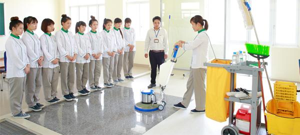 vệ sinh công nghiệp Homecare